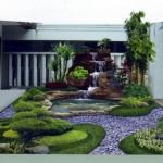 Contoh Bentuk Taman di Dalam Rumah