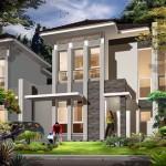 Contoh Desain Rumah Tingkat Dua Lantai