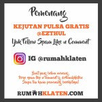 PEMENANG SPAM LIKE JULI 2019