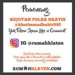 PEMENANG SPAM LIKE FEBRUARI 2020