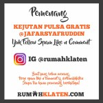 PEMENANG SPAM LIKE JULI 2020